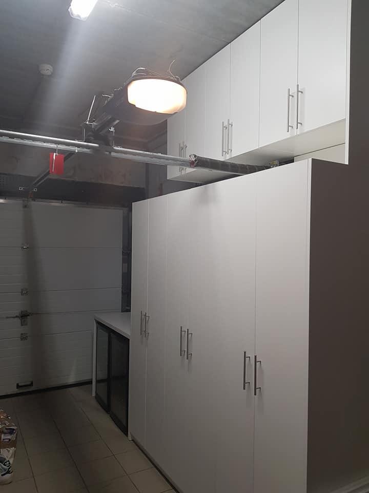 Aménagement d'un garage sur mesure - Mobilier sur mesure