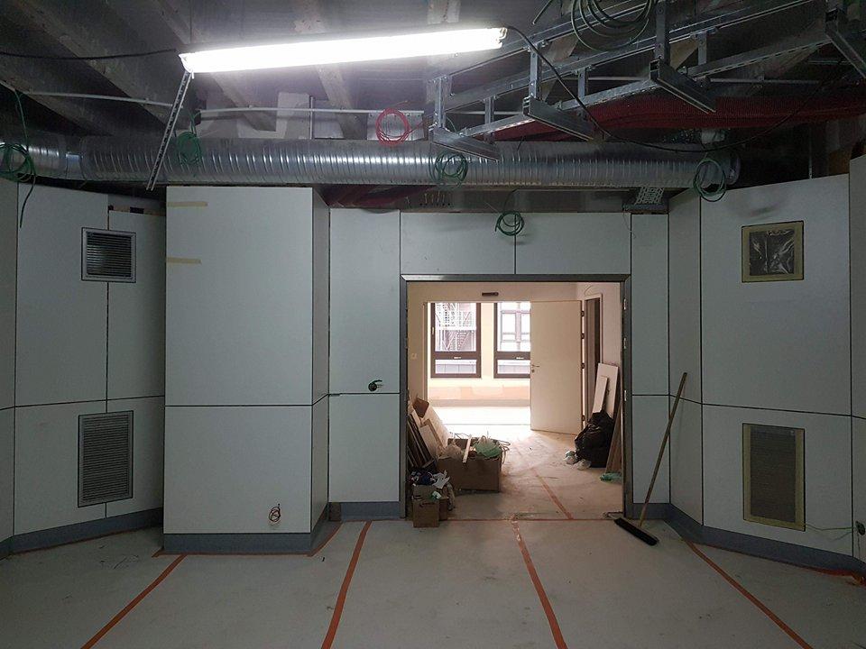 Panneaux polyrey pour les blocs opératoires du CHU Sainte Elisabeth Namur