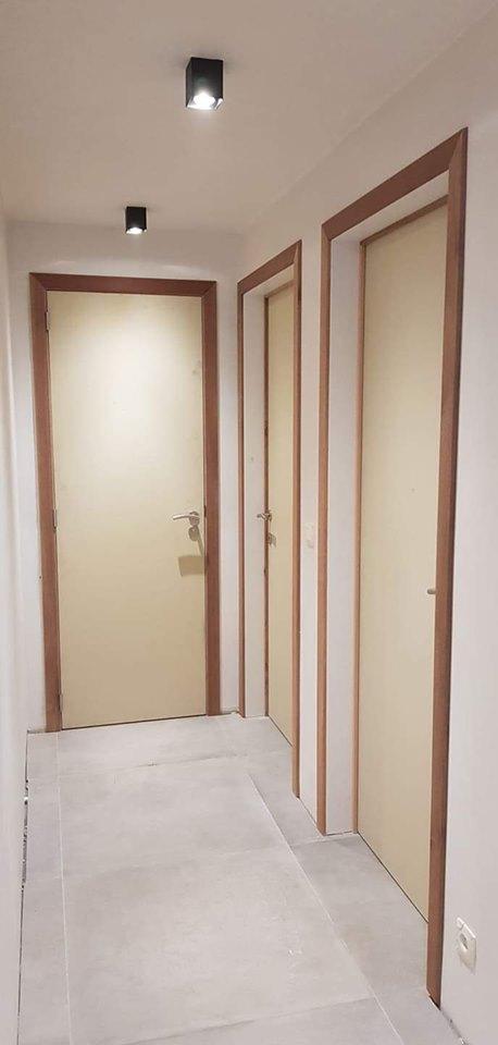 Fabrication et pose de portes à peindre