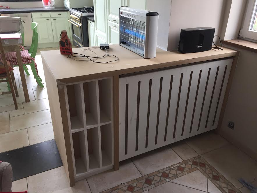 Cache radiateur - Mobilier sur mesure