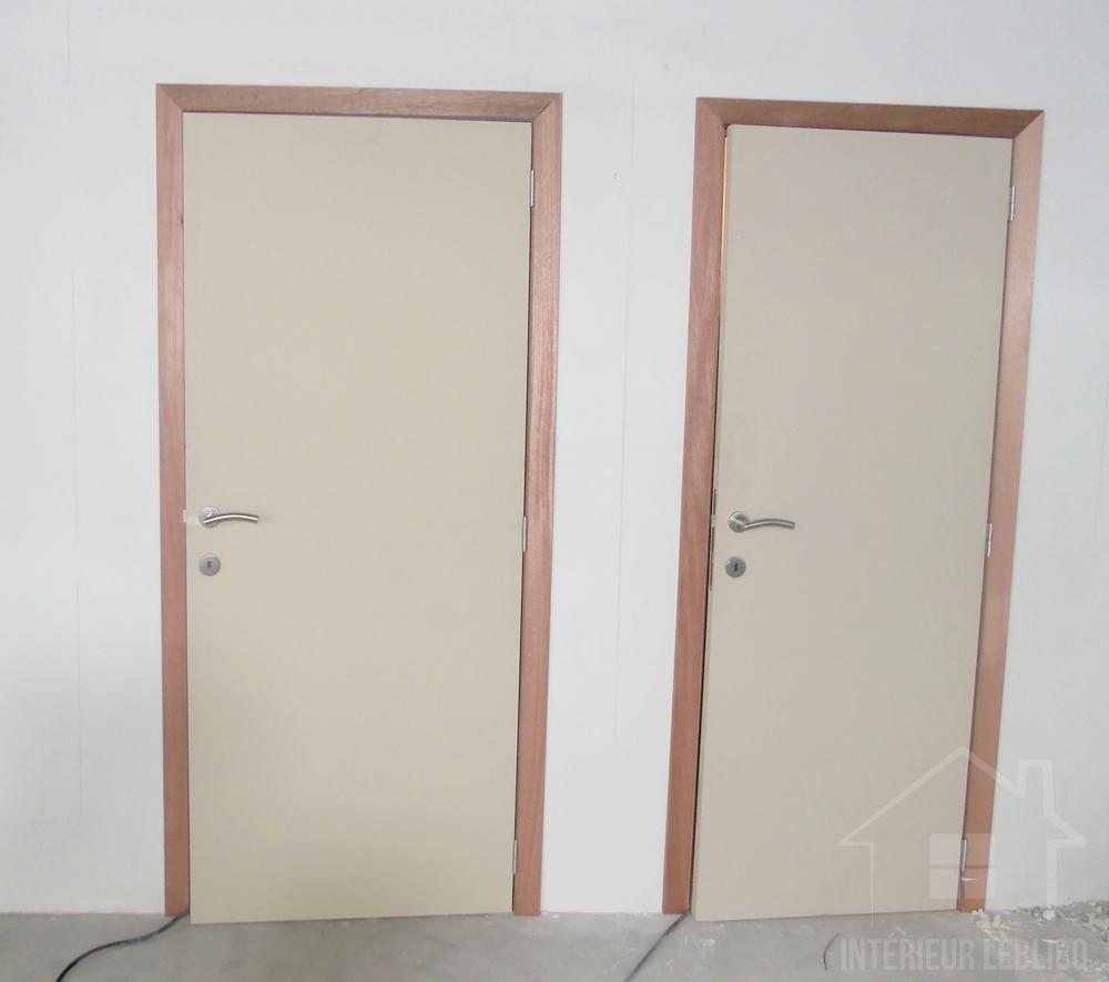 Portes intérieures porte intérieure tubulaire à peindre