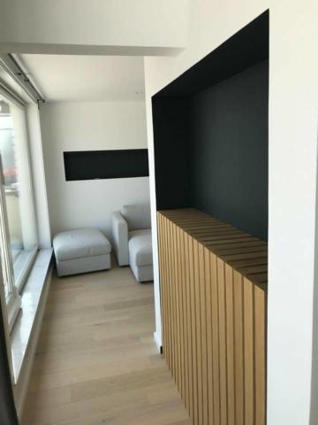 chantier appartement Knokke