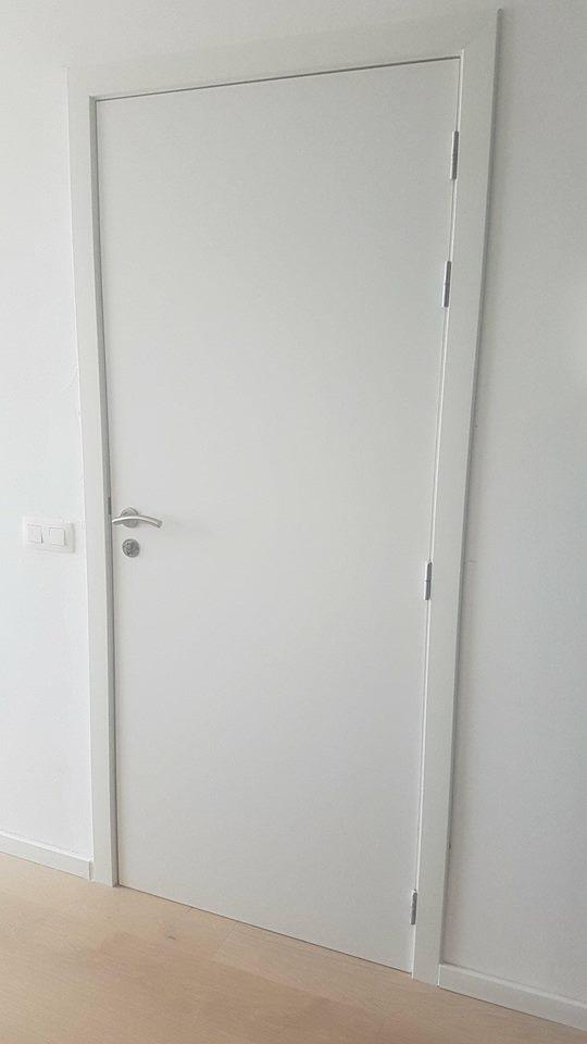 Porte d'entrée appartement Knokke
